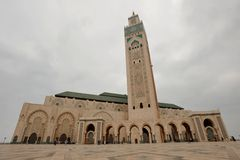 Mosque Hassan II Royalty Free Stock Photos