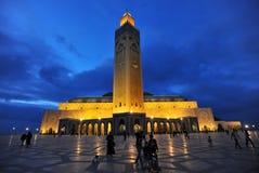 Mosque Hassan II Stock Photography