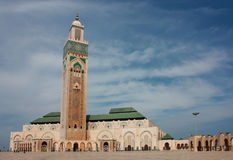 Mosque of Hassan II Royalty Free Stock Photos