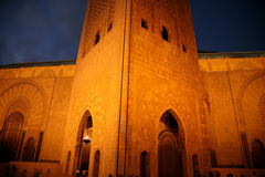 Mosque Hassan II Royalty Free Stock Images