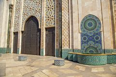 Mosque Hassan II in Casablanca Royalty Free Stock Image