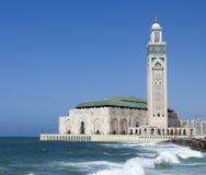 Mosque Hassan II in Casablanca Stock Image