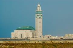 Mosque Hassan II in Casablanca Stock Photos