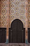 Mosque Hassan II in Casablanca, Morocco Stock Photos