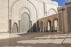 Mosque Hassan II in Casablanca, Morocco Stock Image