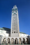 The Mosque of Hassan II in Casablanca Royalty Free Stock Photo