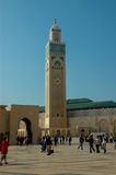 Mosque Hassan II in Casablanca, Morocco Stock Photography