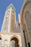Mosque Hassan II in Casablanca. stock photography