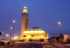 Mosque Hassan II in Casablanca Royalty Free Stock Images