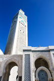 The Mosque of Hassan II in Casablanca Royalty Free Stock Photography
