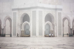 Mosque of Hassan II Royalty Free Stock Photography