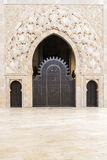 Mosque of Hassan II,door Stock Photo