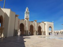 Mosque hassan 2 royalty free stock photography