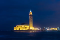 Mosque Hassan II Royalty Free Stock Photography