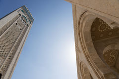 Mosque of Hassan II Royalty Free Stock Images