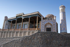 Mosque Hazrat-Hyzr. Samarkand. royalty free stock image