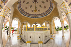 . Mosque Heart of Chechnya Royalty Free Stock Image