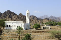 Mosque in the highlands of Ras al Khaimah, United Arab Emirates Royalty Free Stock Image