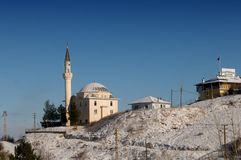 Mosque on the hill. Stock Photos