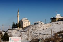 Mosque on the hill. Stock Photo