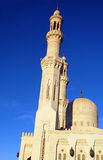 Mosque in Hurghada. Mosque the muslim church in Hurghada, Egypt Royalty Free Stock Photo