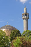 london, regents park: Mosque Royalty Free Stock Images