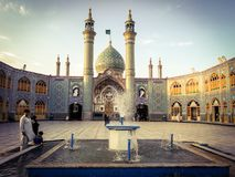 Free Mosque In Iran Stock Images - 100840424