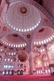 Mosque indoor stock photo