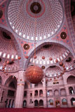Mosque indoor Stock Images