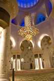 Mosque from inside Stock Photography