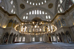 Nuruosmaniye Mosque in Istanbul Royalty Free Stock Photo