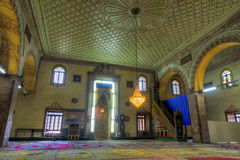 Mosque interior Stock Photography
