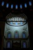 Mosque Interior. Interior of Kocatepe Mosque in Ankara, Turkey Royalty Free Stock Images