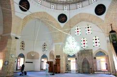 Mosque interior, Antalya, Turkey Stock Images