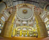 Free Mosque Interior Detail. Island To The Central Mosque In Turkey Royalty Free Stock Image - 183086216