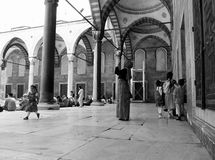 Mosque interior Stock Image