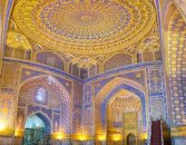 The mosque interior Stock Image