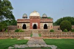 Mosque at Isa Khan Niyazi's tomb in Humayun Tomb complex Stock Photos