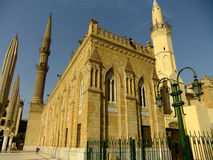 Mosque in Islamic district of Cairo Stock Image