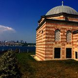 Mosque and Istanbul Stock Photography