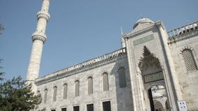 Mosque in Istanbul stock footage