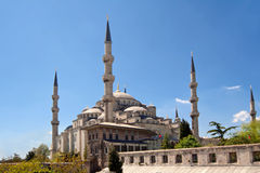 Mosque in Istanbul, Turkey Royalty Free Stock Images