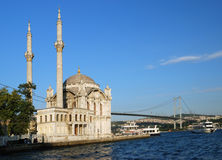 Mosque in Istanbul, Turkey. Ortakoy Mosque in Istanbul, Turkey Stock Photography