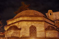 Mosque. A Mosque in Istanbul, Turkey Royalty Free Stock Photos