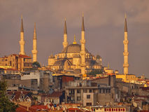 Mosque. In Istanbul in Turkey Stock Photo