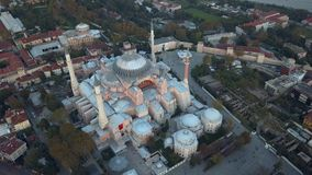 Mosque in Istanbul Turkey stock video