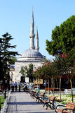 Mosque in Istanbul. Turkey. Famous place in the central part of the city Stock Photography