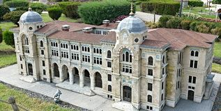 Mosque in Istanbul Turkey Royalty Free Stock Image