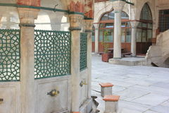 A mosque, Istanbul, Turkey royalty free stock images