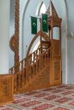 Mosque Istiqlal In Sarajevo Interior Royalty Free Stock Photos